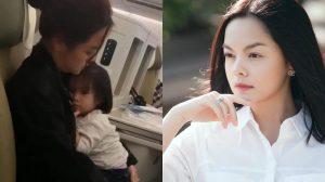 Phạm Quỳnh Anh khiến fan thương cảm với hình ảnh một mình chăm sóc con nhỏ