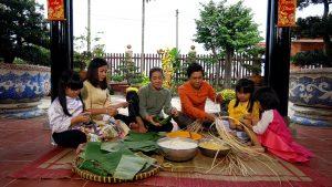 Việt Nam mến yêu: Ấm áp vị bánh ngày tết