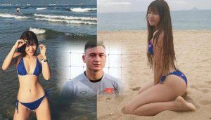 Bằng chứng không thể chối cãi hotgirl Yến Xuân và thủ môn Lâm Tây bí mật hẹn hò
