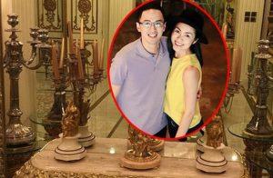Biệt thự triệu đô nhà Tăng Thanh Hà ngập tràn hoa đón năm mới