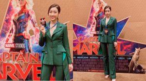 Hoa hậu Đỗ Mỹ Linh khoe trình tiếng Anh khủng khi phỏng vấn siêu sao Captian Marvel