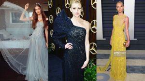 Cận cảnh 3 chiếc váy được các siêu sao Hollywood diện tại lễ trao giải Oscar của NTK Công Trí