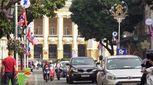 Hà Nội trang hoàng đường phố chào đón Hội nghị thượng đỉnh Mỹ – Triều