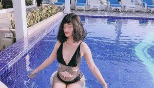 Bạn gái hotgirl của cầu thủ Huy Hùng tung ảnh bikini 'bóng rẫy'