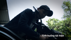 Chuyện cảnh giác: Tên trộm xe … gặp hạn