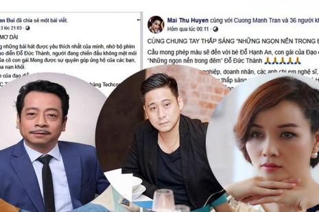 Sao Việt gây xúc động khi kêu gọi hỗ trợ con gái đạo diễn Đỗ Đức Thành