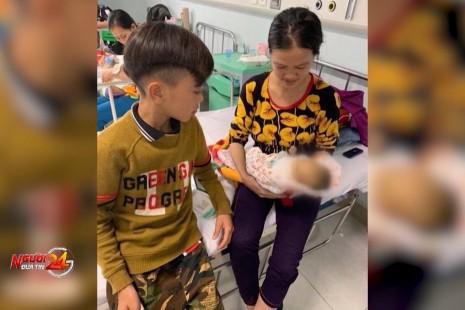 Em trai Vì Quyết Chiến – Em bé đạp xe từ Sơn La xuống Hà Nội – đã qua đời