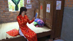Dập tắt lửa lòng: Dối cha rằng mình đã có thai, Hoa và Thành làm đám cưới