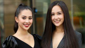 Hoa hậu Mai Phương Thuý và Hoa hậu Tiểu Vy rạng rỡ trong ngày sơ khảo phía Nam MWVN