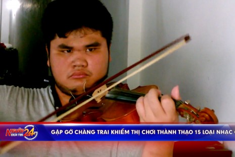 Gặp gỡ chàng trai khiếm thị chơi thành thạo 15 loại nhạc cụ