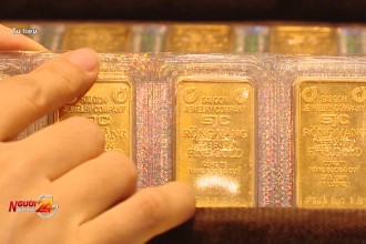 Giá vàng tăng cao nhất gần 8 năm qua