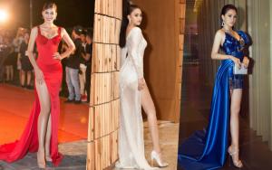 """Tiểu Vy """"lên đời"""" phong cách bởi loạt váy áo nức nở"""