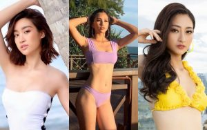 Đẳng cấp khoe dáng khéo léo khi diện bikini của Đỗ Mỹ Linh, Tiểu Vy, Lương Thùy Linh