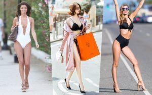 Đâu chỉ Ngọc Trinh, nhiều người đẹp cũng từng diện bikini trên phố, có ca tương đồng đến kinh ngạc
