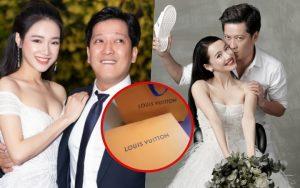 """Kỷ niệm 1 năm ngày cưới, Nhã Phương bật ngửa khi """"đập hộp"""" quà Trường Giang tặng"""