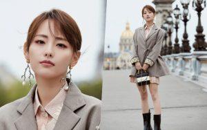 """""""Mỹ nhân đẹp nhất Diên Hi Công Lược"""" tại Paris Fashion Week: Style đẳng cấp, thần thái kiêu sa lấn át cả đàn em đi cùng"""