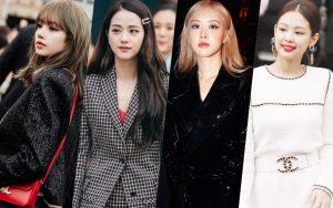 Đọ độ sang chảnh khi dự show thời trang của bốn cô nàng BLACKPINK