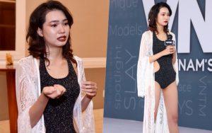 Next Top Model: Huỳnh Thị Biết Điều ra về sớm sau khi khiến ban giám khảo nổi giận