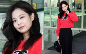 """Jennie sang chảnh, """"biến"""" sân bay thành sàn diễn thời trang"""