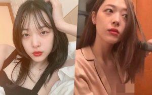 """SỐC: Netizen náo loạn vì chứng kiến tận mắt Sulli làm lộ gần như cả nửa vòng 1 """"thả rông"""" khi livestream"""