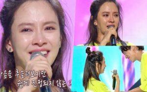 """Chỉ vì câu nói của Lee Kwang Soo mà Song Ji Hyo đã ngừng khóc trong fanmeeting """"Running Man"""""""