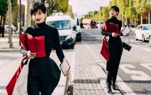 Khánh Linh lọt top sao châu Á có trang phục đẹp nhất ở Paris