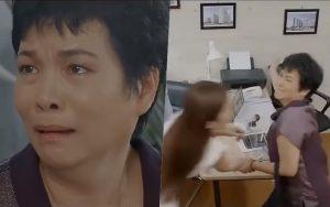 """Preview Hoa Hồng Trên Ngực Trái tập 17: Mẹ Khuê sôi máu tìm tới tận công ty của Thái """"mỏ vàng"""", một tay """"vả"""" đẹp Trà tiểu tam"""