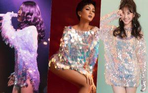 Diện cùng 1 kiểu váy ngắn cũn: Hari Won, Bích Phương và H'Hen Niê khoe đôi chân cực phẩm khó phân định thắng thua