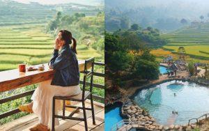 """Choáng với khu sinh thái suối khoáng nóng được mệnh danh là """"tiểu Bali"""" tại Yên Bái, lên đây """"chill"""" thì hết nấc luôn!"""