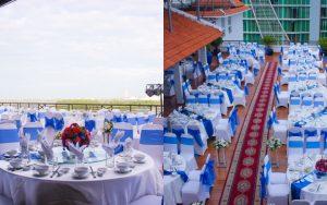 """Bắt trend cực hot 2019: Tiệc cưới sân thượng """"chanh xả"""", view siêu cấp xịn xò"""