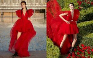 """Dương Mịch """"đụng độ"""" Kendall Jenner: Dáng ai cũng thon, chân ai cũng dài nhưng hơn thua nhau ở kiểu tóc"""