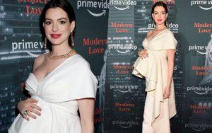 """Từng gây sốt vì vòng 1 """"bức thở"""", minh tinh Anne Hathaway khiến netizen Việt phát cuồng: Bầu mà vẫn đẹp thế trời ơi!"""