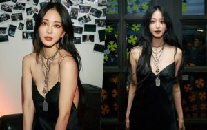 """Gừng già nhưng chưa đủ cay: U40 Han Ye Seul mải mê khoe lưng trần mà không biết mình bị đồ lót """"hại"""""""