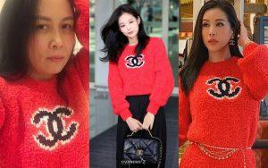 """Hoa hậu Thu Hoài, Phượng Chanel """"đụng"""" áo 52 triệu đồng với Jennie"""