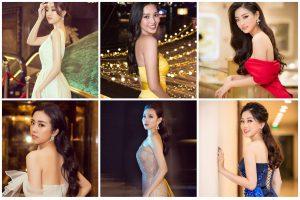 Trầm trồ không với loạt Hoa hậu – Á hậu sở hữu đôi vai trần gợi cảm nhất showbiz Việt
