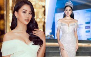 Những lần diện váy xẻ sâu vòng 1 cực nóng bỏng của Hoa hậu Tiểu Vy