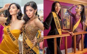 Đại diện Myanmar – từ đối thủ mạnh trở thành chị em tốt của Kiều Loan tại Miss Grand International