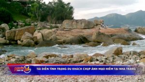 Tái diễn tình trạng du khách chụp ảnh mạo hiểm tại Nha Trang