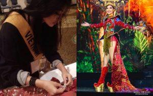 Kiều Loan nói gì sau sự cố hơn 1000 bóng đèn không sáng tại Miss Grand International?