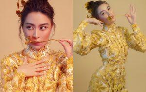 """Mặc toàn đồ hiệu """"tây"""" mà nhìn vẫn đậm chất Việt Nam, váy áo của Hoàng Thùy Linh cũng xuất sắc không kém gì âm nhạc đâu!"""