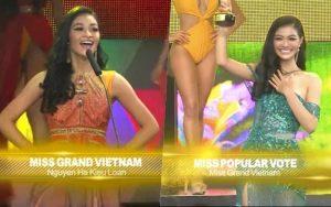 Miss Grand International 2019: Á hậu Kiều Loan xuất sắc lọt vào Top 10