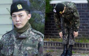 """""""Ông hoàng Kpop"""" G-Dragon cuối cùng đã xuất ngũ: Quá ngầu, cúi gập 90 độ trước 3.000 fan và phóng viên đông nghẹt thở"""