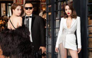 """Chẳng ngán cái lạnh Sapa, Ngọc Trinh và Kỳ Duyên """"lên đồ"""" sexy dự show của NTK Lê Thanh Hòa"""