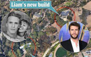 Trớ trêu thay Liam xây nhà mới ngay cạnh căn hộ của Miley Cyrus sống chung với tình trẻ: Ly hôn lại thành hàng xóm?