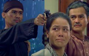 """Cái kết """"Tiếng sét trong mưa"""": Hải – Khải Duy chĩa súng bắn nhau, Thị Bình lao vào giữa xin chết thay 2 người"""