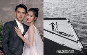 Đông Nhi – Ông Cao Thắng hé lộ thêm một phần trong album cưới chụp ở trời Tây 1 tuần trước ngày trọng đại