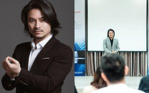 """""""Đạo diễn nội tâm"""" Hoàng Nhật Nam tự tin chia sẻ bí quyết thành công cùng các doanh nhân trẻ"""