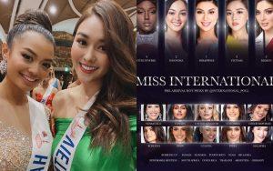 Xuất hiện trong gần 20 bảng xếp hạng quốc tế lớn nhỏ, Tường San khẳng định vị thế tại Miss International 2019