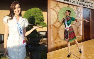"""Tường San bất ngờ tung vũ đạo """"Để Mị Nói Cho Mà Nghe"""" khiến dàn thí sinh Miss International 2019 trầm trồ, tán thưởng không ngớt"""