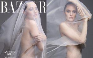 Angelina Jolie khoe body đẹp ná thở với bộ ảnh nude 100% ở tuổi 44, tiết lộ mâu thuẫn với Brad Pitt thuở còn mặn nồng
